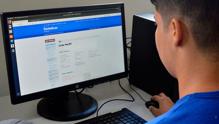 Alunos da Unifesspa recebem treinamento sobre uso do Portal de Periódicos da Capes